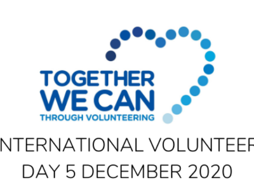 Recognising our volunteers on International Volunteer Day